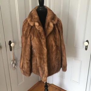 Jackets & Blazers - DAMAGED Mink Coat Size Medium